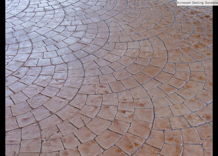 Home Stamped Concrete Sarasota