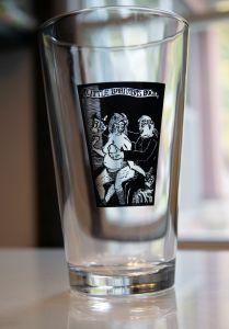 Little Barnabas Bock Beer Mug Empty