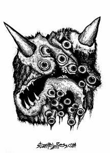 Monster Eyeball Demon