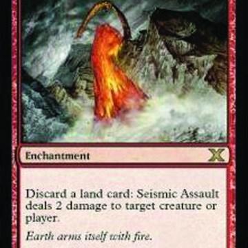 Seismic Assault Magic The Gathering Card