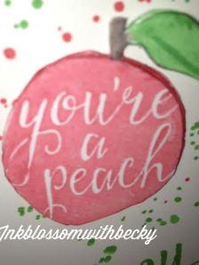 Peach has dimension