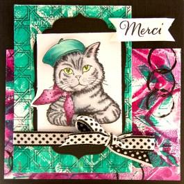 Bonjour Kitty by Cyndi Bundy