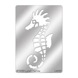 DWLM181 Seahorse Stencil