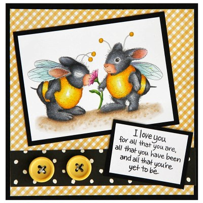Bumble Bunnies by Jennie Lin Black