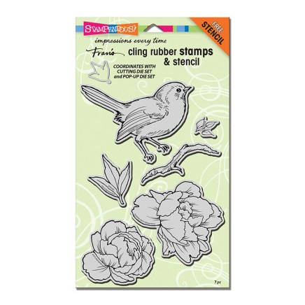 CRS5083 Cling Bird Blossom