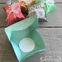Pillow Boxes~ Artisan Blog Hop
