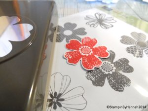 1. Stamped and Punched Flower