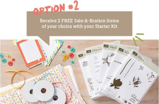Stampin' Up! UK Sale-a-bration join