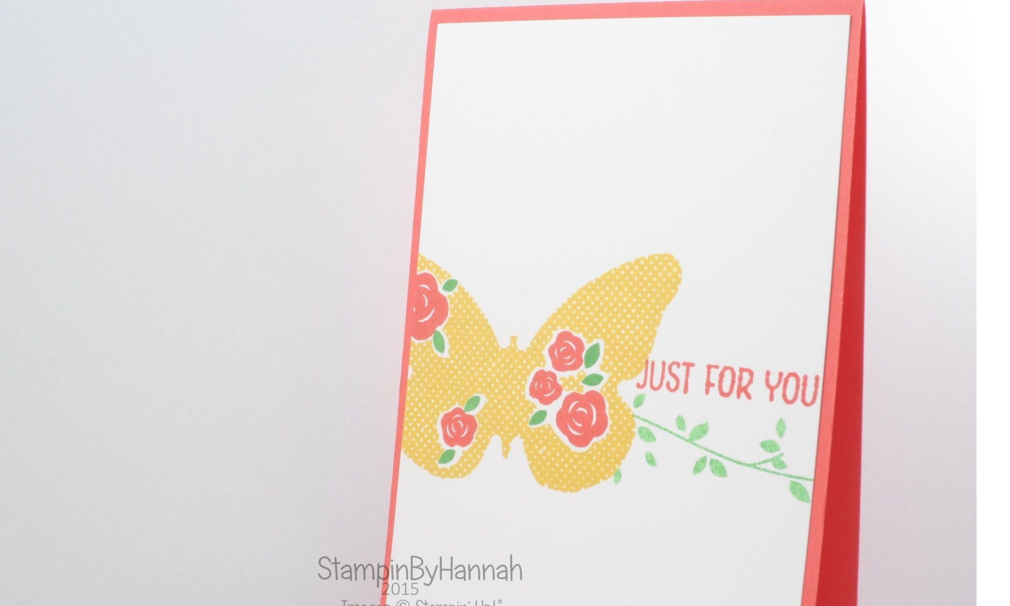 Stampin' Up! UK Floral wings hostess exclusive code club