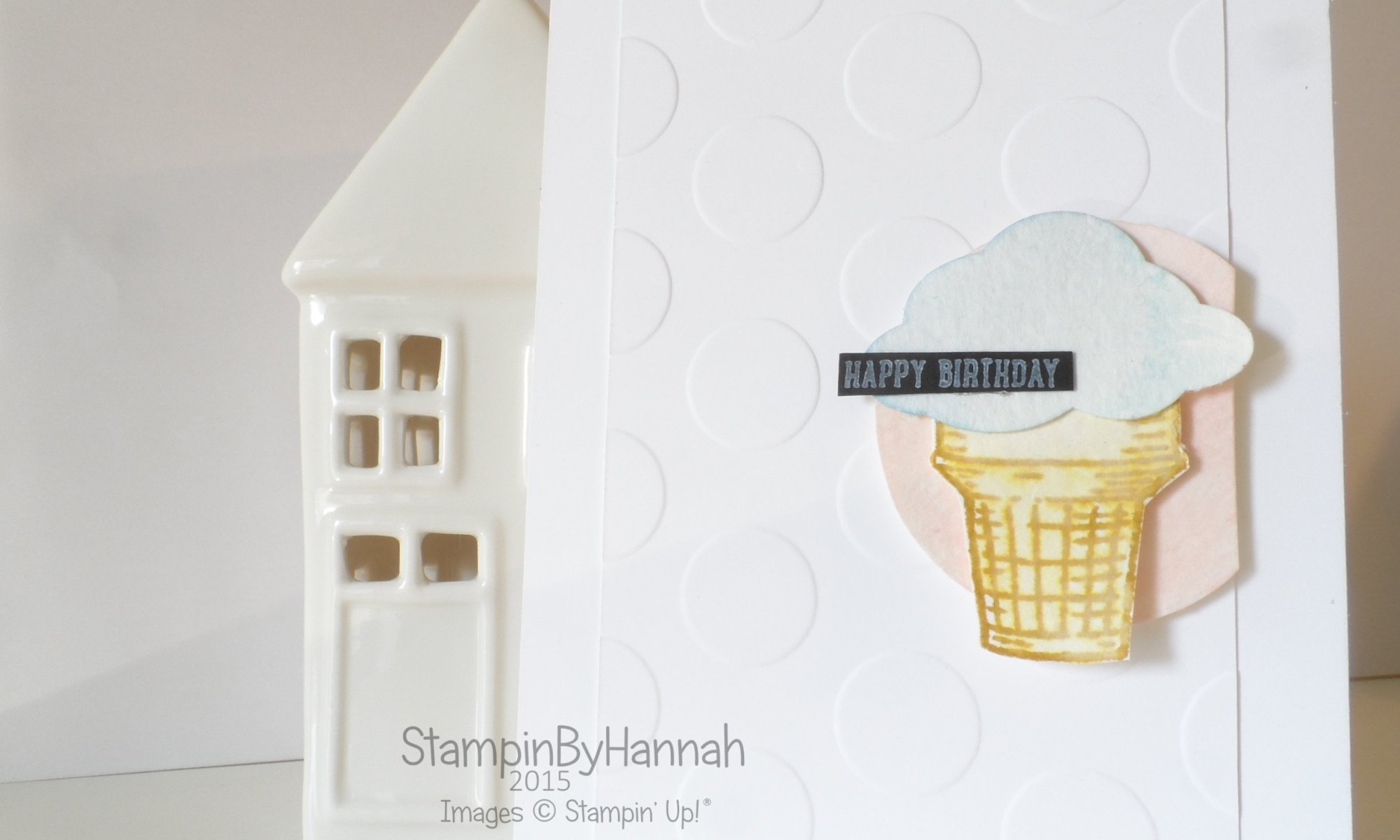 Stampin' Up! UK Artisan Design Team Sprinkles of Life Happy Birthday CASE card