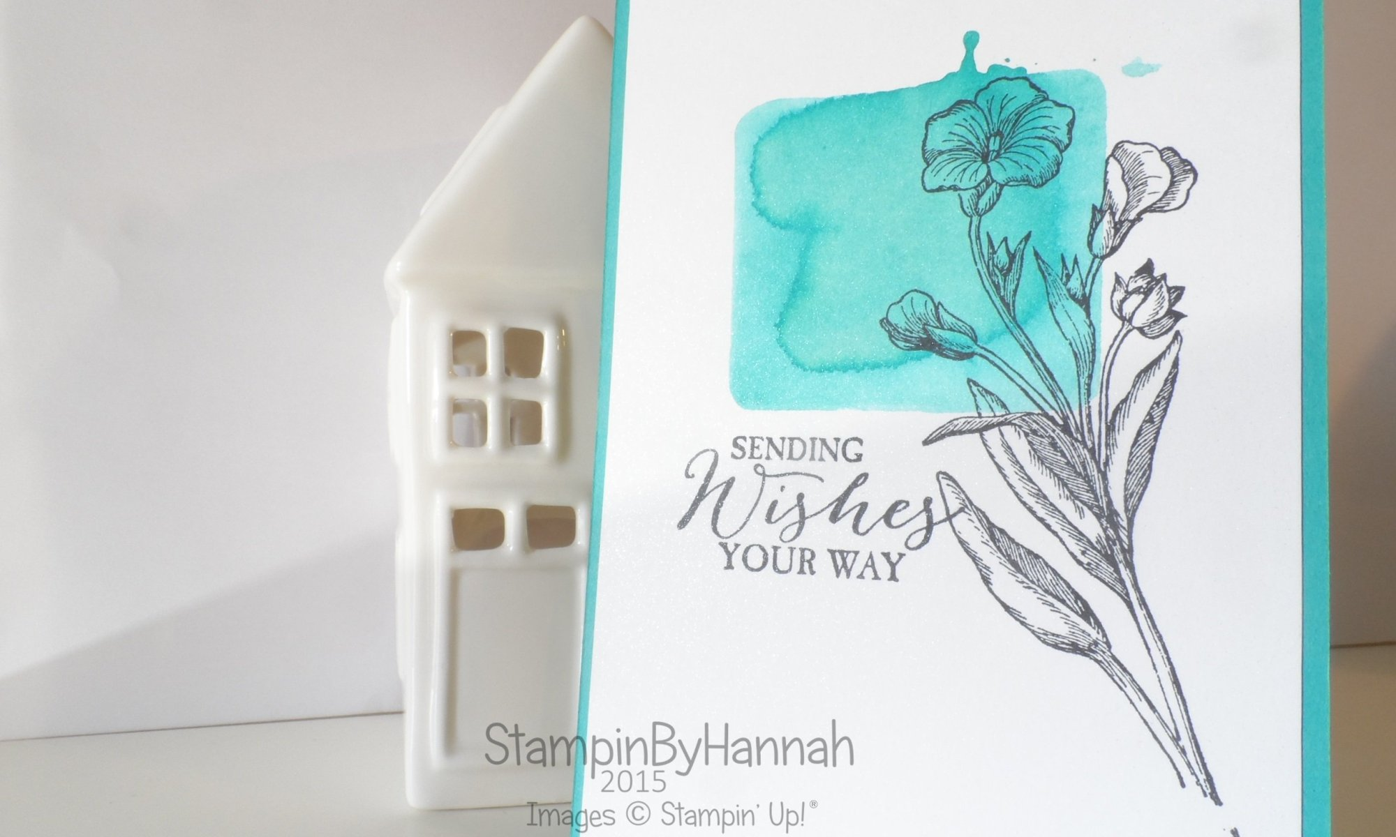 Stampin' Up! UK Butterfly Basics Watercolour Stamping