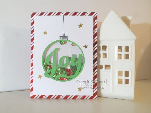 Stampin' Up! UK shaker card kit