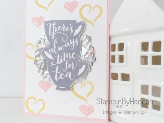 Stampin' Up! UK A nice cuppa