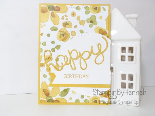 Stampin' Up! UK Crazy About You birthday card