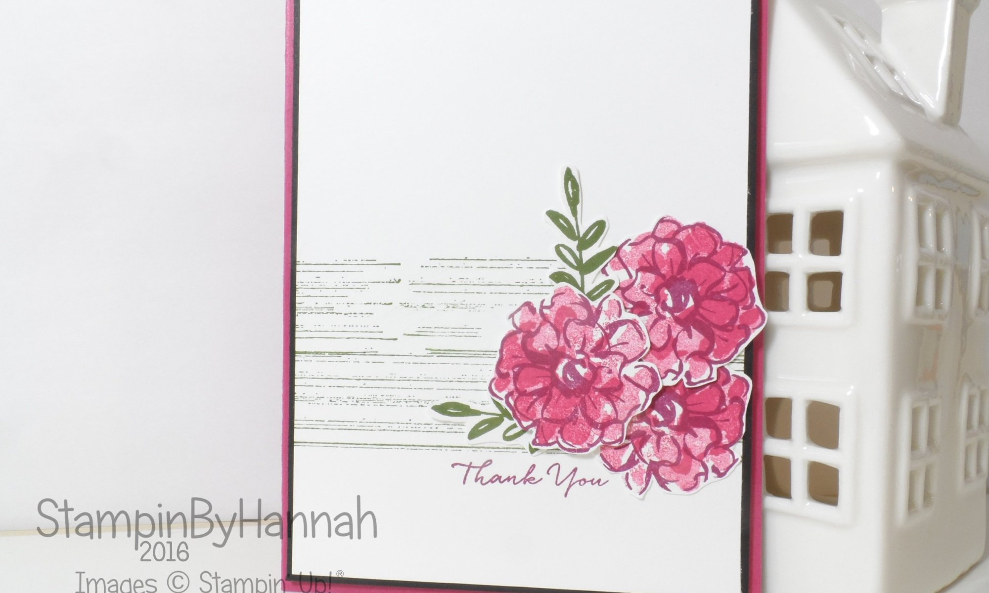 Stampin' Up! UK What I Love Global Design Project #22