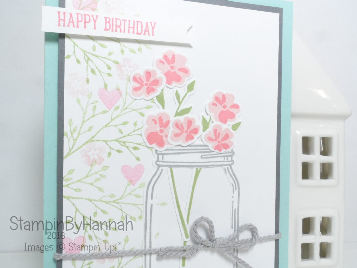 Pootles Team Blog Hop Annual Catalogue Jar of Love Stampin' Up! UK