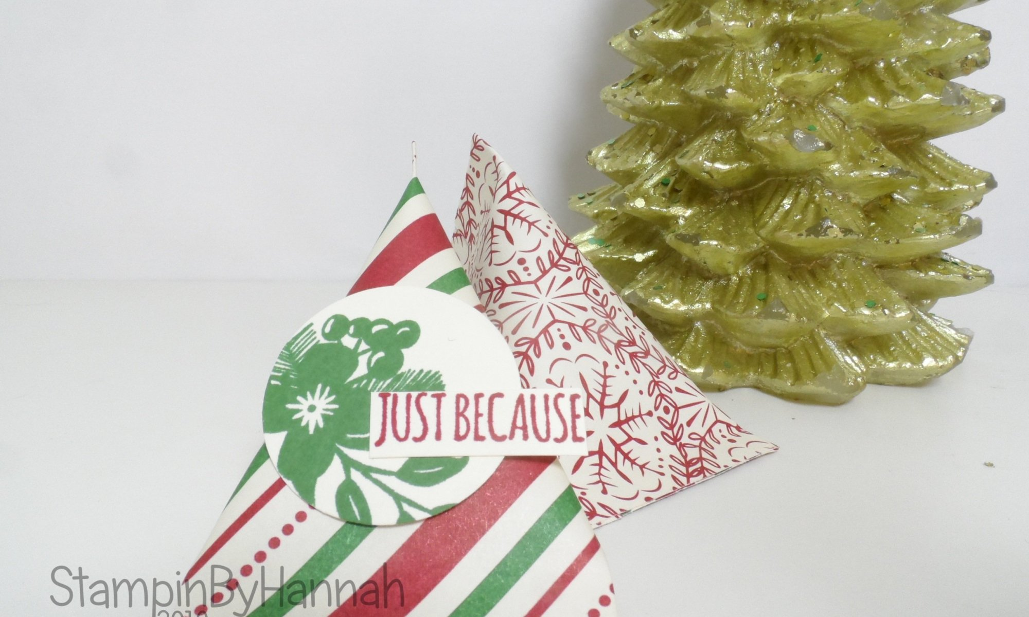 Christmas Countdown Chocolate Video Tutorial using This Christmas from Stampin' Up!