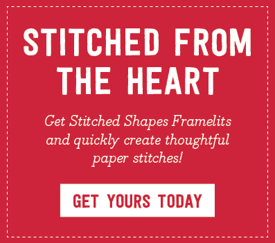 Stitched from the Heart Stitched Shapes Framelits