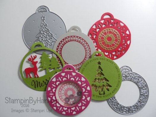 Quick and Easy tags using Merriest Wishes from Stampin' Up! UK Video Tutorial