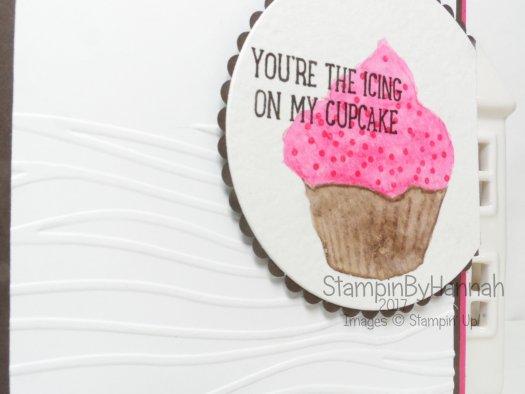 Make It Monday video tutorial using Sweet cupcake from Stampin' Up! UK