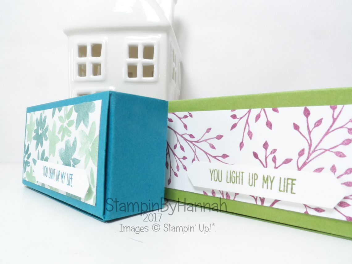 3D Friday Video Tutorial Pootles Inspired Tealight box using Jar of Love from Stampin' Up!