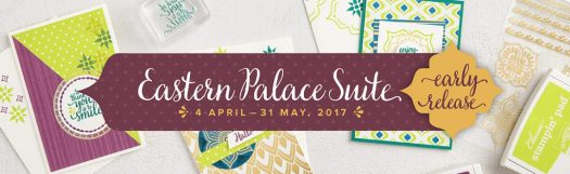 Stampin' Up! UK Eastern Palace Suite