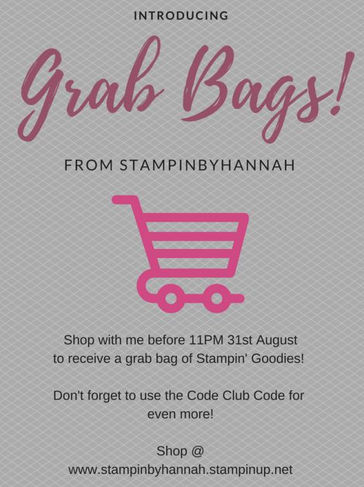 Stampin' Up! Grab Bag giveaway