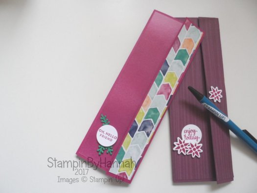 Make It Monday Notebook covers using Eastern Palace suite from Stampin' Up!