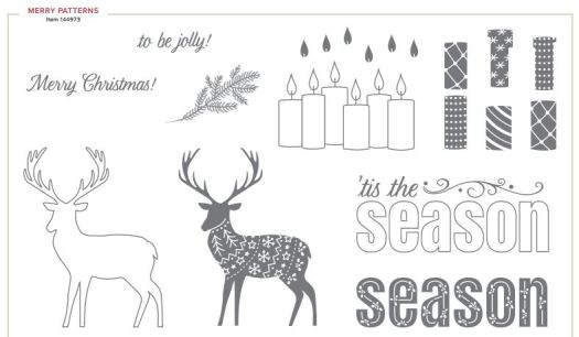Merry Patterns Stamp Set from Stampin' Up!