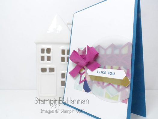 Oh So Eclectic card for the Global Design Project using Stampin' Up! products
