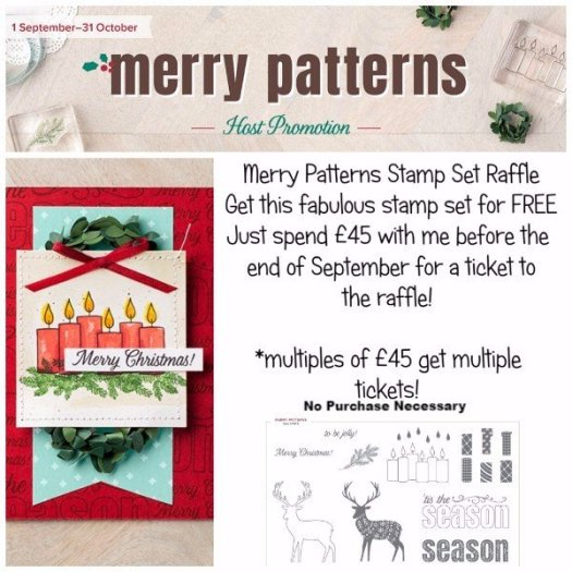 Merry Patterns Raffle
