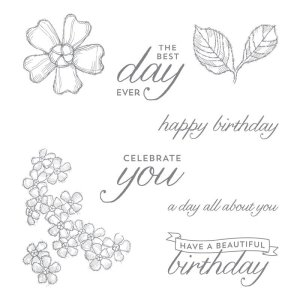 Stampin' Up! Birthday Blossoms Learn to Stamp Club
