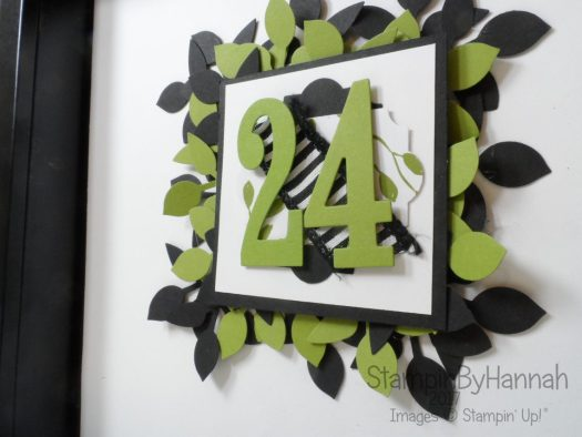 Christmas Countdown Calorie Free Advent Calendar Video Tutorial using Merry Little Christmas from Stampin' Up!