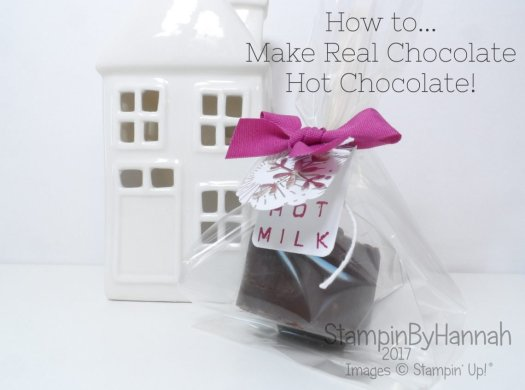 Christmas Countdown how to make real hot chocolate!