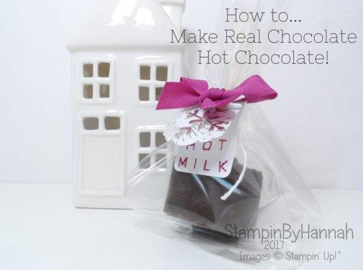 Christmas Countdown how to make real hot chocolate!