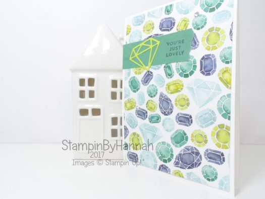 Just Because Patterned Paper Card using Naturally Eclectic Designer Series Paper from Stampin 'Up!