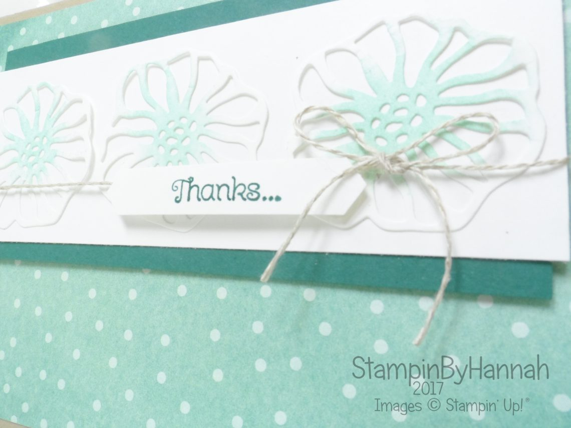 Make It Monday customer thank you cards using Oh So Eclectic from Stampin' Up!