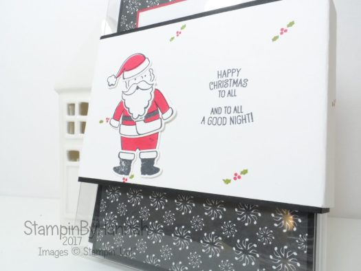 Christmas Countdown How to make a set of Christmas Cards using Santa's Suit from Stampin' Up!