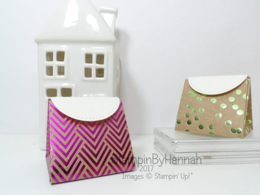 Make It Monday How to make a no cut no stick bag using patterned paper
