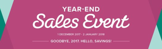 Stampin' Up! End of Year Sale