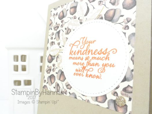 Make It Monday Video Tutorial Painted Harvest Thank You Cards using Stampin' Up! products