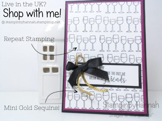 Stamping with the Half Full Stamp Set from Stampin' Up!