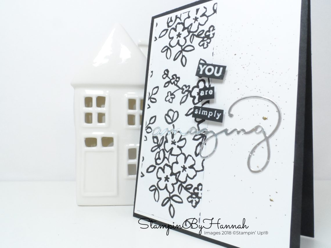 Sale-a-bration 2018 Congratulations Card using Amazing You and Celebrate You from Stampin' Up!