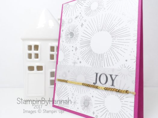Video Tutorial Stamp of the Month Club using Year of Cheer from Stampin' Up!