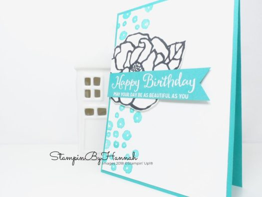 Facebook Live Online Card Class featuring Beautiful Day by Stampin' Up!