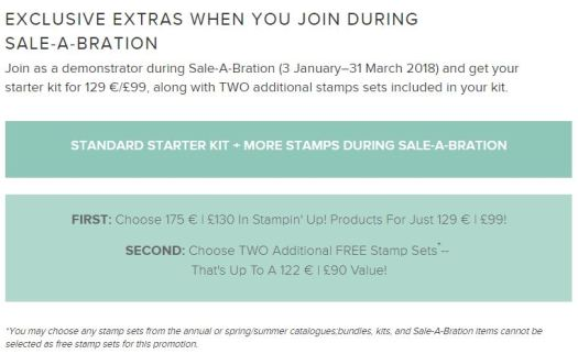 Stampin' Up! UK How to Join