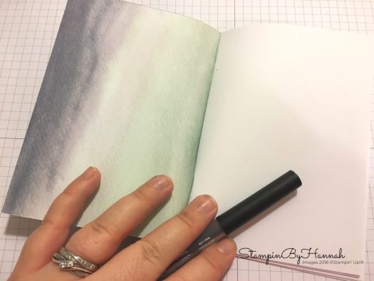 How to make a note book using Designer Series Paper from Stampin' Up!
