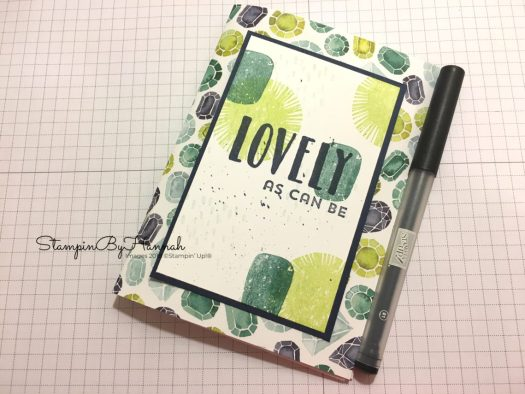 Thoughtful Thursday Designer Series Paper Notebook using Naturally Eclectic from Stampin' Up!
