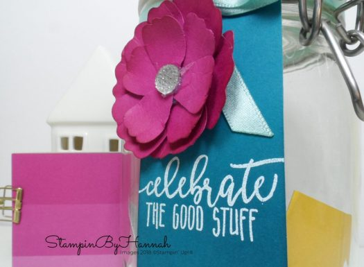 How to make a Happiness Jar using Stampin' Up! products