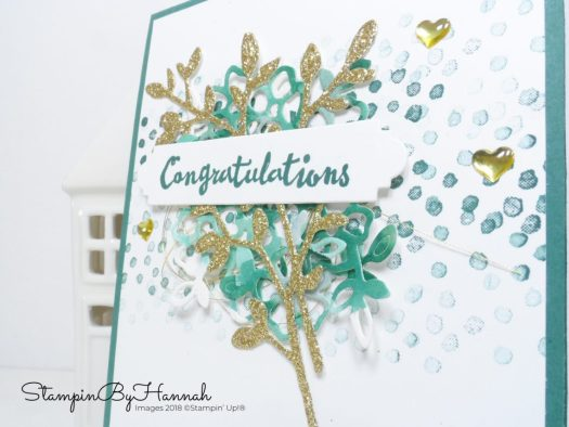 Petal Palette Congratulations Card using Stampin' Up! products
